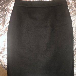 J. Crew Wool Pencil Skirt Size 0
